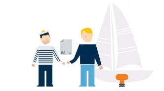 illustration Sailsharing