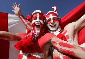 Football World Cup - Netherlands v Denmark, 14 June 2010